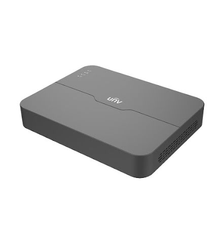 UNV - 8-kanal NVR - PoE 8 - 60/64 mbps - Svart