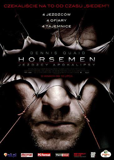 Przód ulotki filmu 'Horsemen - Jeźdźcy Apokalipsy'