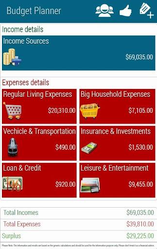 Budget Planner Lite