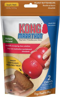 Kong Marathon Peanut Butter Small 2-Pack