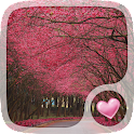Pink Trees Wallpaper icon