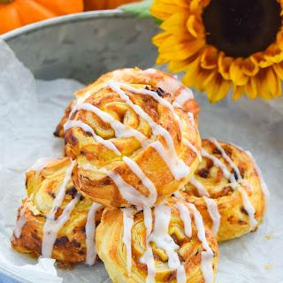 Pumpkin Maple Cinnamon Swirls.