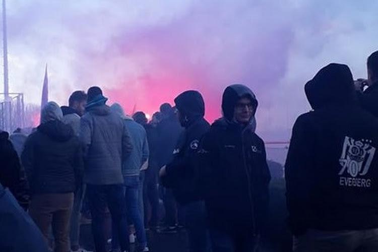 Fans Anderlecht steken op training spelers hart onder de riem voor Clasico
