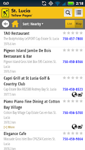 St. Lucia Yellow Pages screenshot 4