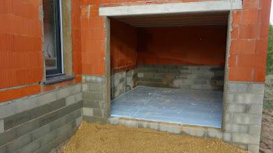 Photo: isolatie garagevloer