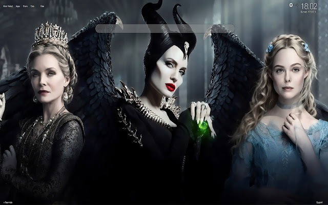 Maleficent 2 Wallpapers and New Tab
