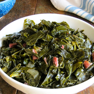 Slow Cooker Sweet and Spicy Collard Greens Recipe