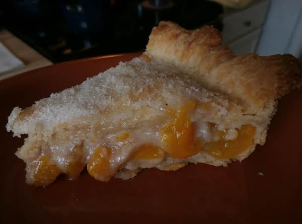 Sour Cream Peach Pie Recipe