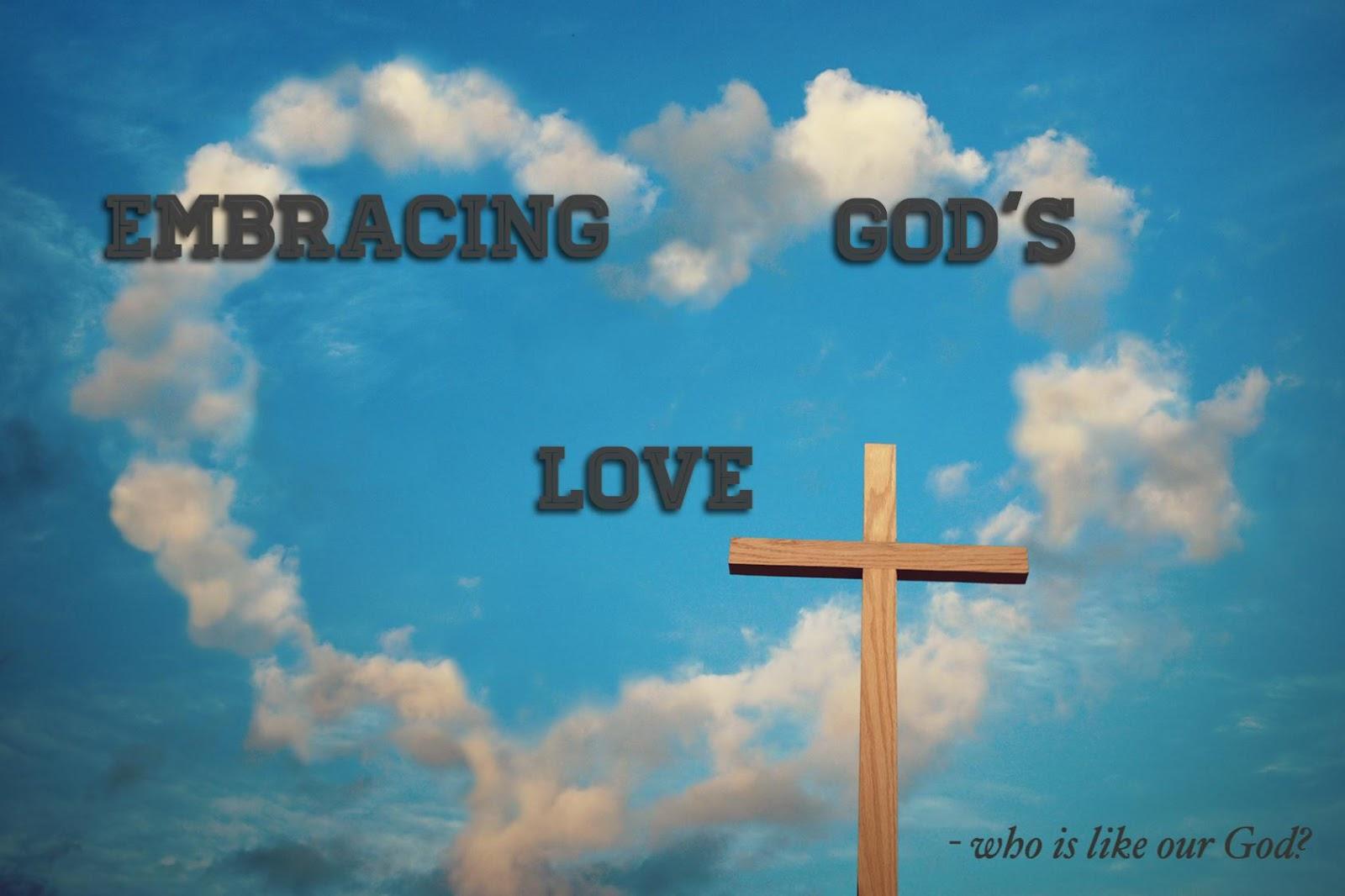 Embracing God's love 2