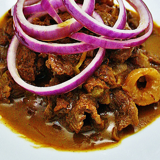 Filipino Beef Steak Rice Combo