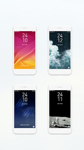 Lock screen for  Galaxy S8 edge 14.0.3001 screenshots 2