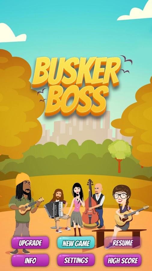 Busker Boss: Music RPG Game- screenshot