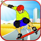 Wrong City Skater Lane 3D icon