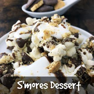 S'mores Dessert Popcorn
