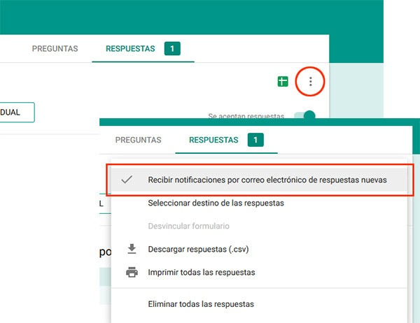 Formularios página web Conquista internet