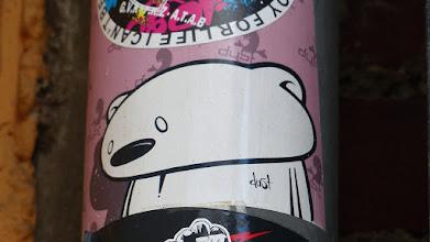 Photo: Sticker; DAST