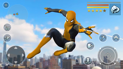Super Spider Rope Hero - Strange Gangstar Vegas  screenshots 2