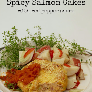 Spicy Salmon Cakes
