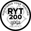 Yoga Alliance Certified yoga teacher logo krystal kelly