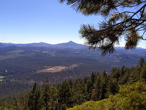Photo: Black Butte & Mt Washington