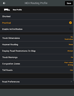 CoPilot Truck Europe Region- screenshot thumbnail