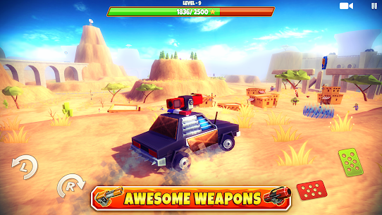 Zombie Offroad Safari MOD APK 1.2.1 (Unlimited Money) 4