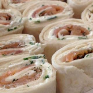 Salmon Wraps.