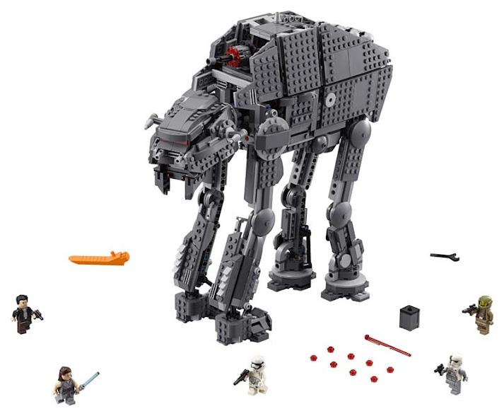 Contenido de Lego® 75189 First Order Heavy Assault Walker™