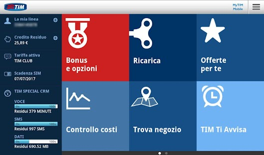 MyTIM Mobile- screenshot thumbnail