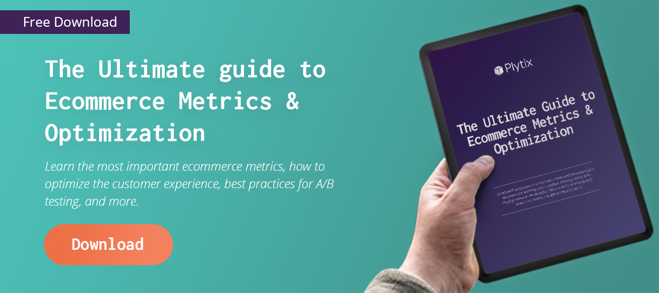 ecommerce metrics and optimization ebook