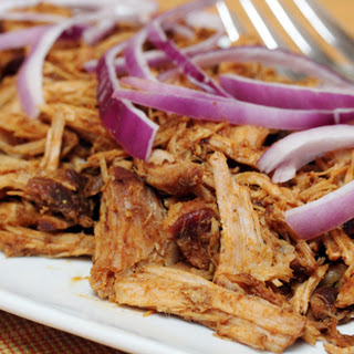 Pulled Pork with Red Onions