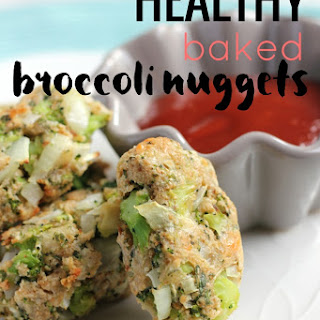 Healthy Baked Broccoli Nuggets