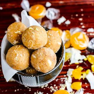 No Bake Coconut Peanut Butter Butterscotch Bites {Grain Free}.