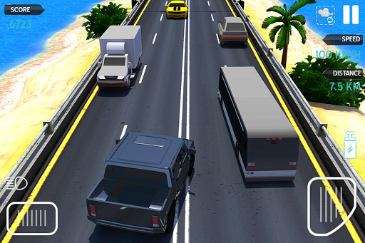 Highway Car Racing Game  astuce 2