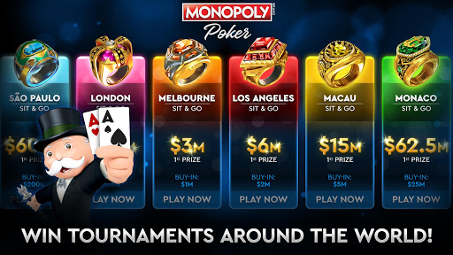 MONOPOLY Poker - The Official Texas Holdem Online screenshots 3