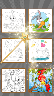 Coloring & Play with Animals for Kids
