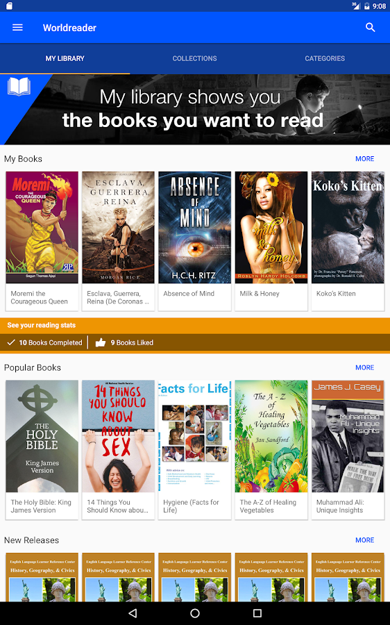 Worldreader free books android apps on google play worldreader free books screenshot fandeluxe Choice Image