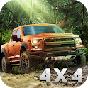 SUV 4x4 Rally Driving icon