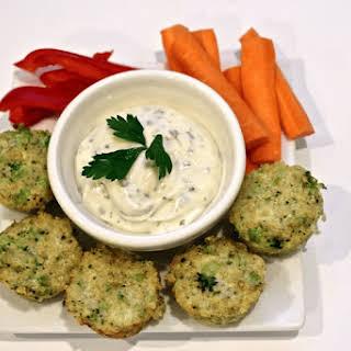 Broccoli Cheese Quinoa Bites.