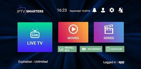 IPTV Smarters Pro APK poster