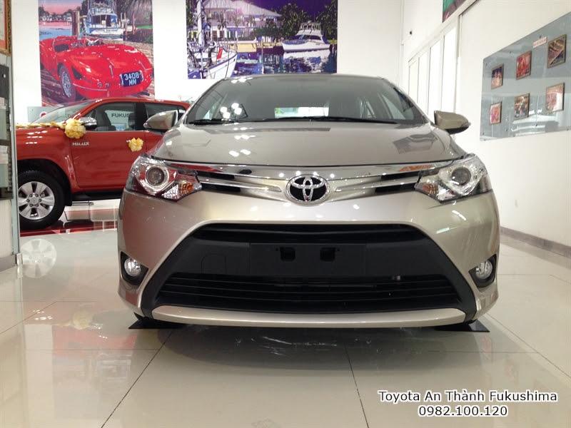 Khuyến Mãi Giá Mua Xe Toyota Vios 2016 1.5E Số Sàn Trả Góp 1