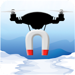 Drone Magnet: Ice Fishing Icon