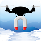 Drone Magnet: Ice Fishing