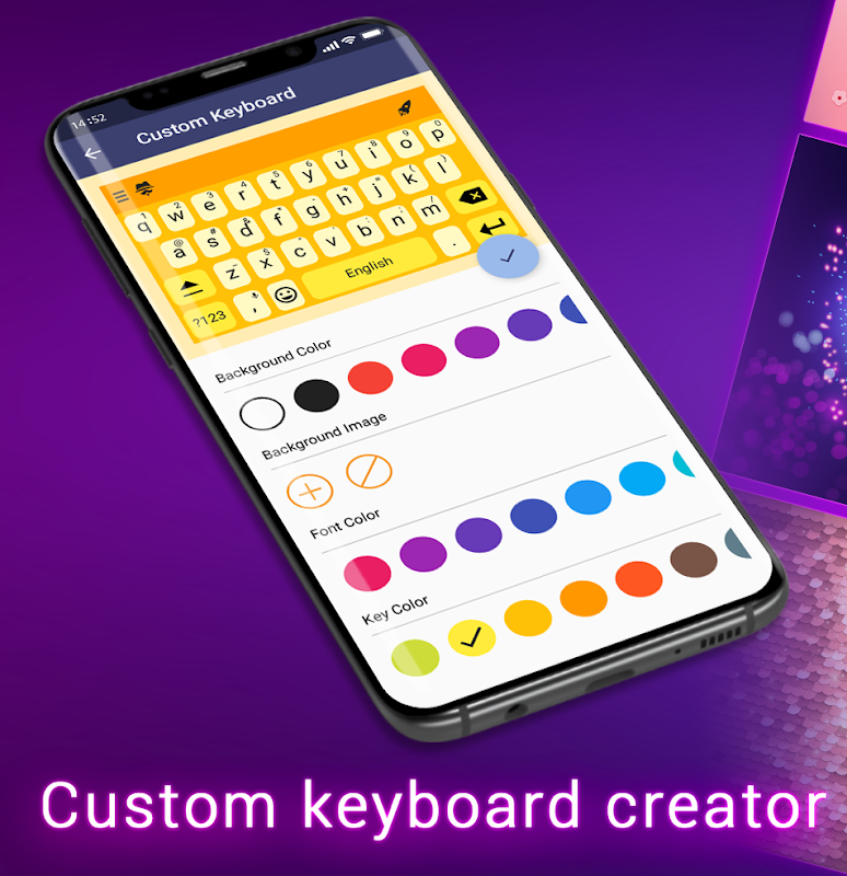 Keyboard Themes For Android screenshots