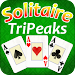 TriPeaks Solitaire ♣ Free Card Game Icon