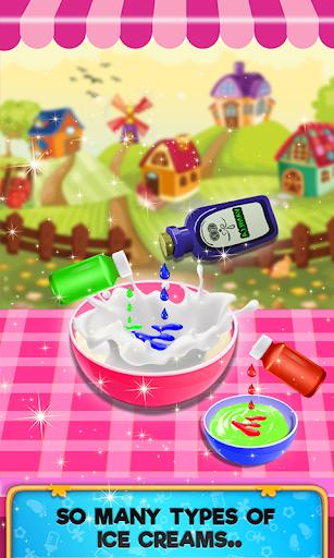 Unicorn Rainbow Ice Cream Maker:Carnival Fair Food hack tool
