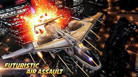 Futuristic Air Assault - náhled