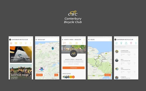 Canterbury Bicycle Club- screenshot thumbnail