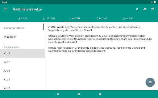 Lawdroid – Deutsche Gesetze und EU-Recht screenshot 19