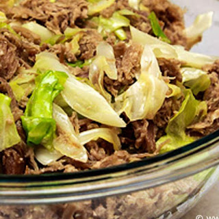 Kalua Pork with Cabbage.